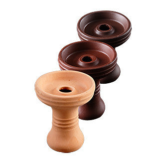 Natural Clay Funnel Bowl Medium - TheHookah.com