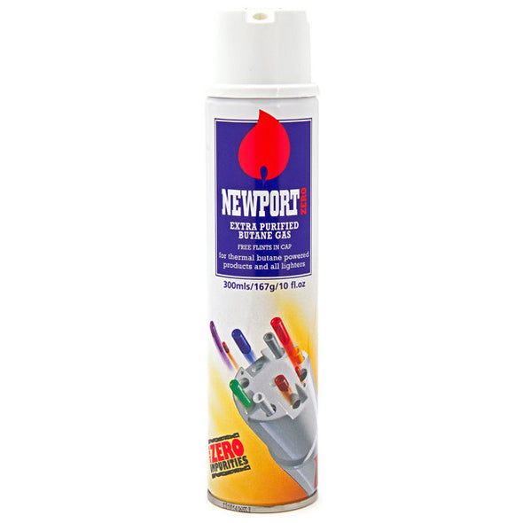 Newport Butane Lighter Gas 300ml - TheHookah.com