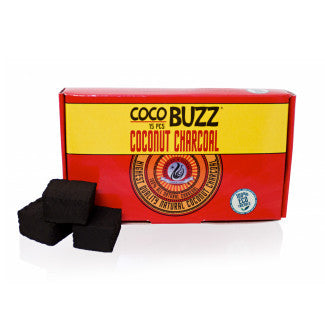 CocoBuzz Charcoal 15pc - TheHookah.com