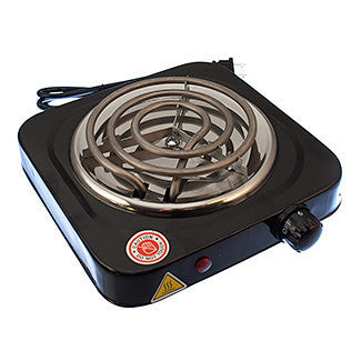 Single Spiral Hotplate Charcoal Burner - TheHookah.com