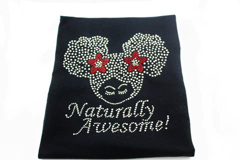 Naturally Awesome Bling T-Shirt