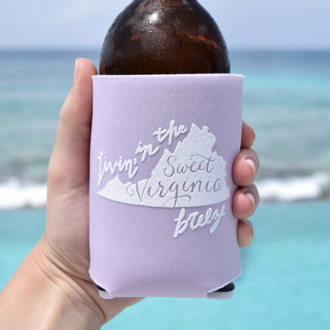 Carry Me Back to Old Virginny Can Cooler in Lavender