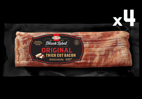 BLACK LABEL® ORIGINAL THICK CUT BACON 4-PACK