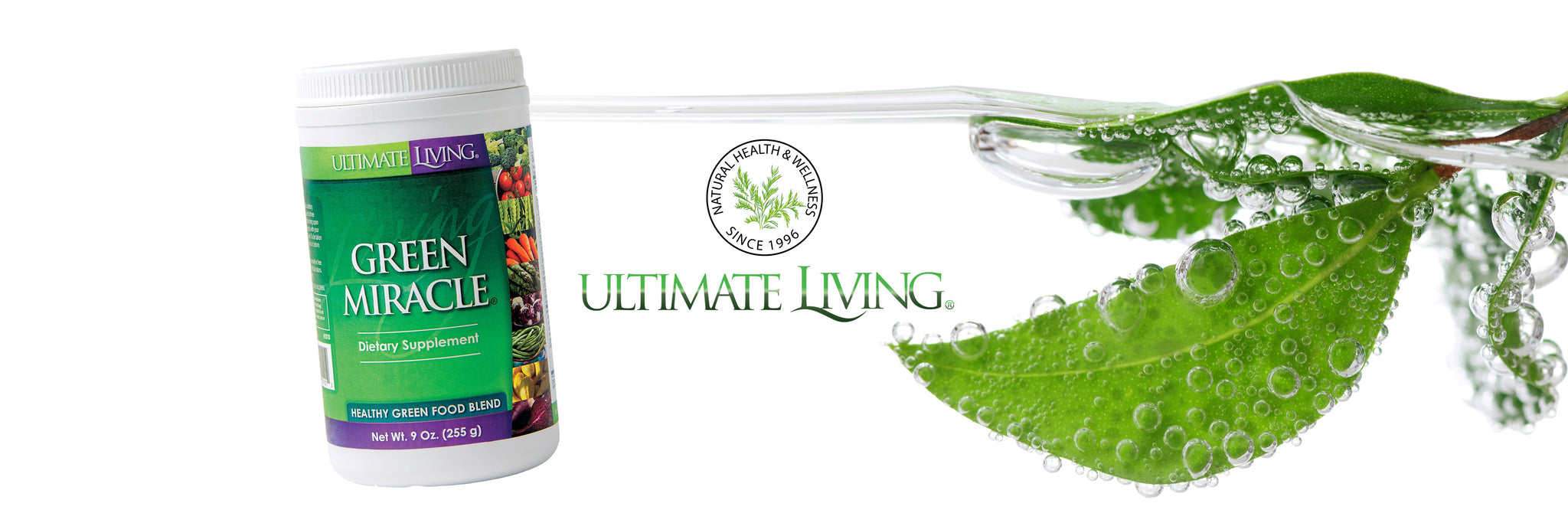 Ultimate Living Natural Nutritional Supplements & Skin Care