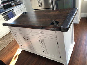 Liberty Ship Hatch Cover Kitchen Island