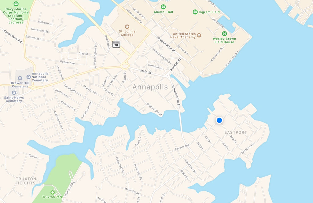 Annapolis Map