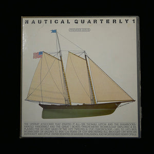 Premiere issue of Nautical Quarterly front slipcover