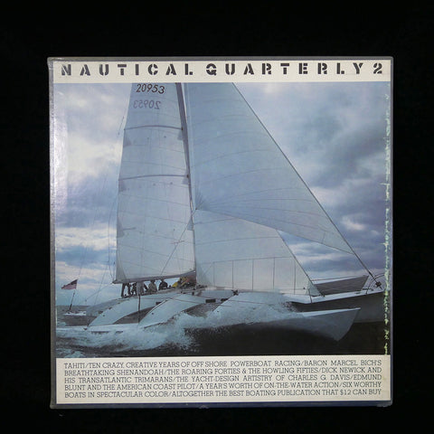 Front slipcover of Nautical Quarterly 2