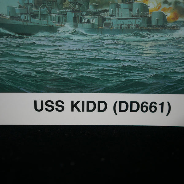 Warship's Data 1: USS Kidd (DD661) Closeup of Title