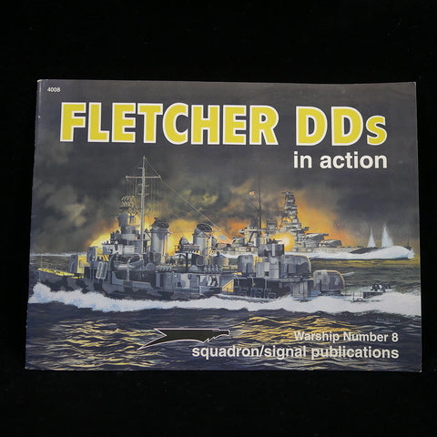 Fletcher DDs in Action: Warship Number 8 Front Cover