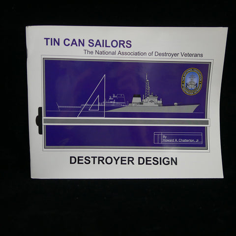 Destroyer Design: Tin Can Sailors Front Cover