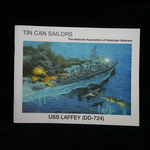 USS Laffey (DD-724): Tin Can Sailors Front Cover