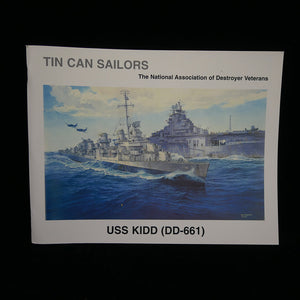 USS Kidd (DD-661): Tin Can Sailors Front Cover