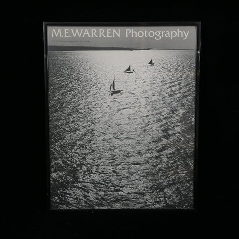 Poster of sailboats by local Annapolis photographer Marion Warren