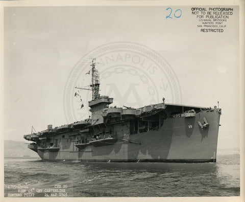 USS Barnes (CVE-20) Aircraft Carrier