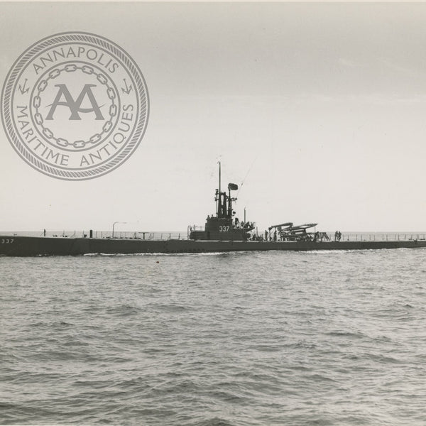 USS Carbanaro (SS-337) Submarine