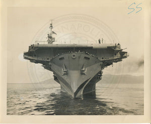 Official Navy Photo of WWII era USS Casablanca (CV-55) Aircraft Carrier - Annapolis Maritime Antiques
