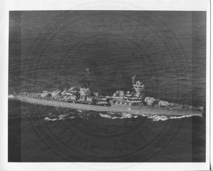 Official U.S. Navy photo the Soviet missile cruiser Chapayev class - Annapolis Maritime Antiques