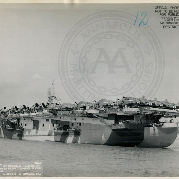 USS Copahee (CVE-26) Aircraft Carrier