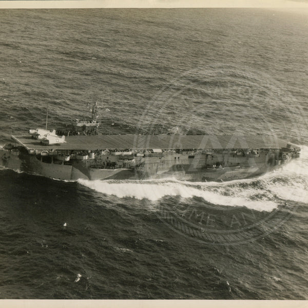 Official Navy Photo of WWII era USS CORE (CVE-13) Aircraft Carrier - Annapolis Maritime Antiques