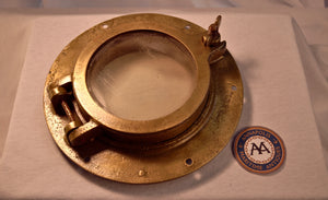 Porthole, brass, without screen