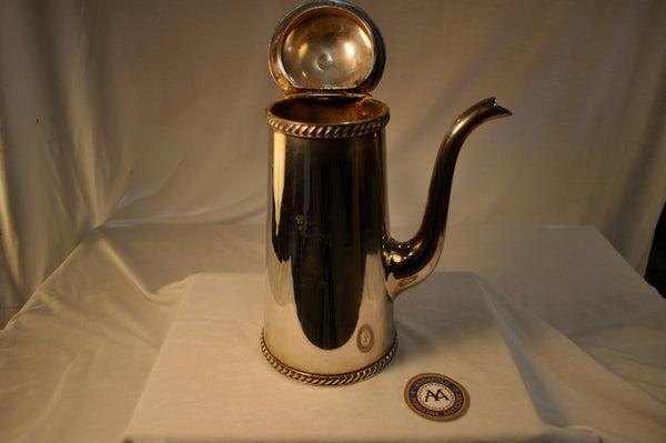 Coffee Server, Silver Soldered, Reed and Barton - Annapolis Maritime Antiques