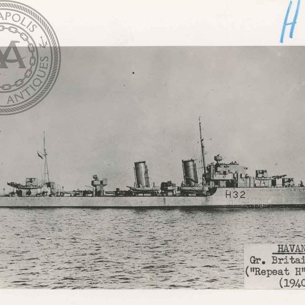 "British and Canadian ""H"" Class Destroyers"