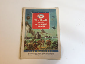 Esso Map of WWII - Annapolis Maritime Antiques