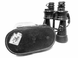 Binoculars, Zeis WWII German Horst Wessel USCG Cutter Eagle - Annapolis Maritime Antiques