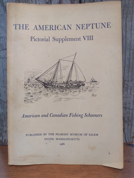 "Book; ""The American Neptune, Pictorial Supplement VIII"" Paperback - Annapolis Maritime Antiques"