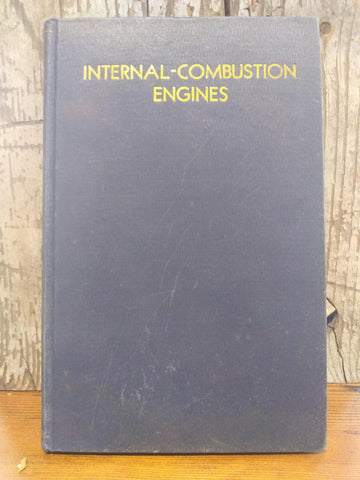 "Book; ""Internal-Combustion Engines"" - Annapolis Maritime Antiques"