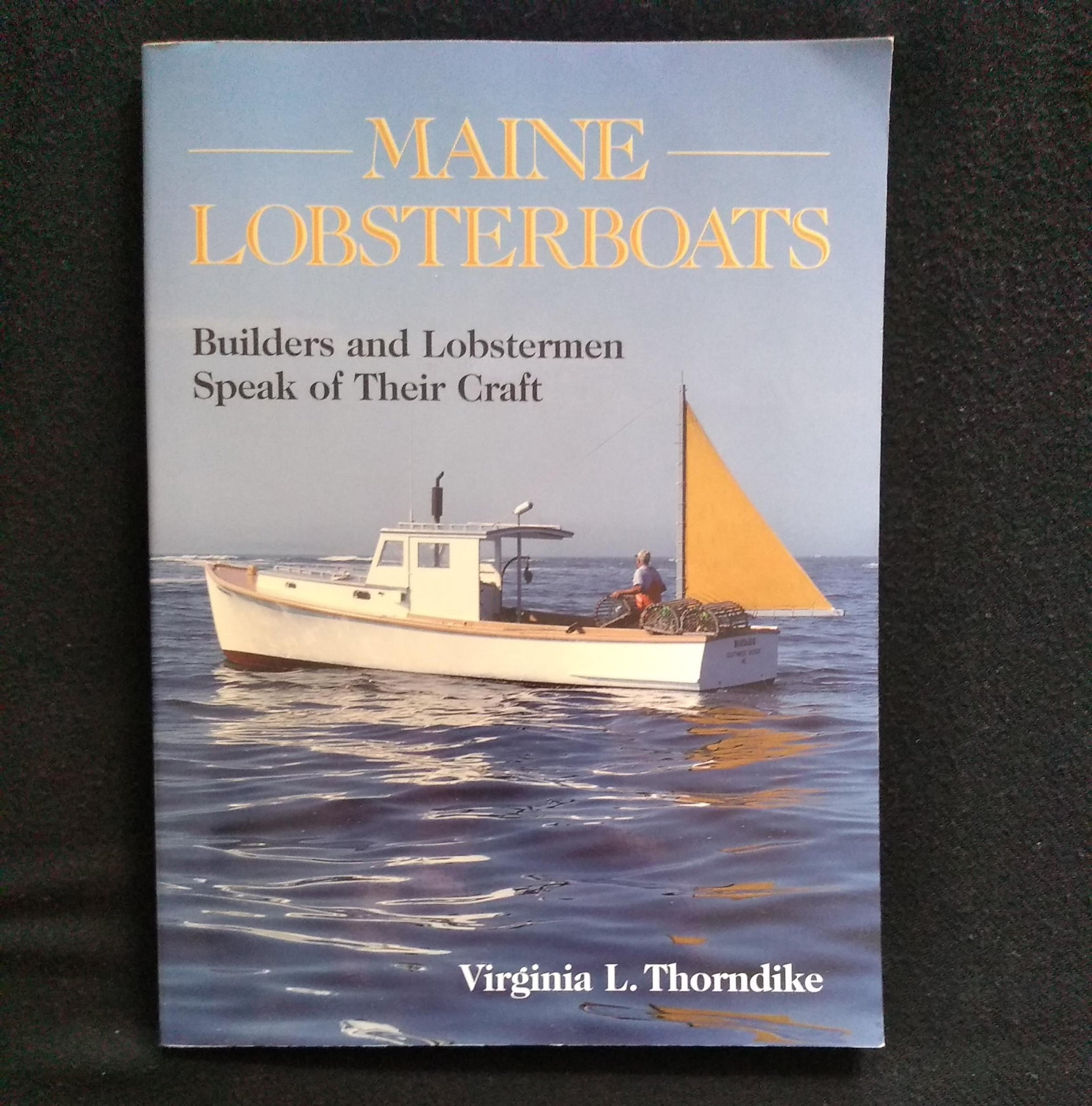 "Book: ""Maine Lobsterboats"""
