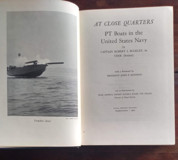 "Book: ""At Close Quarters, PT Boats in the United States Navy"""