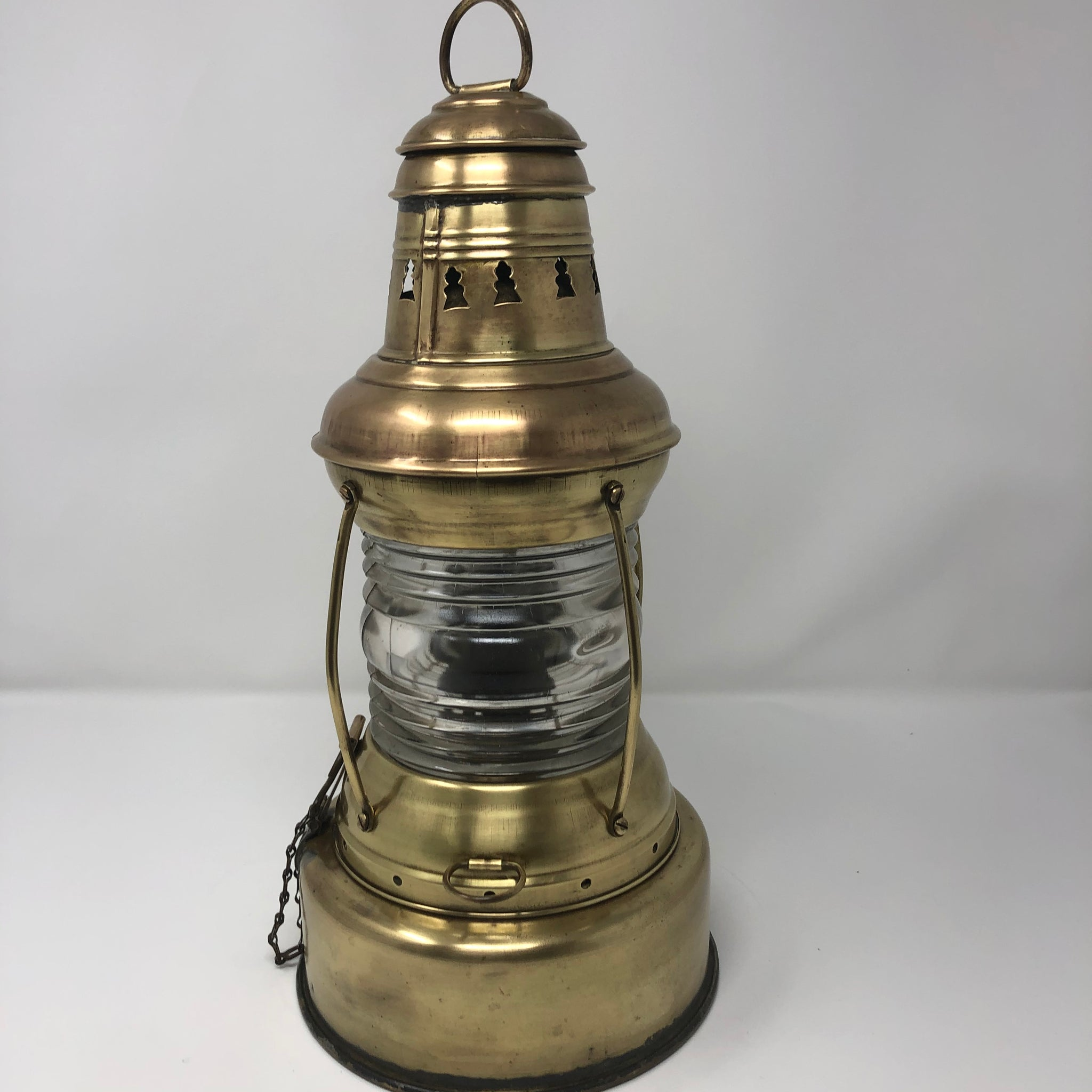 Navigation Light, Perko, 360 Degree White Light, circa early 1920's - Annapolis Maritime Antiques