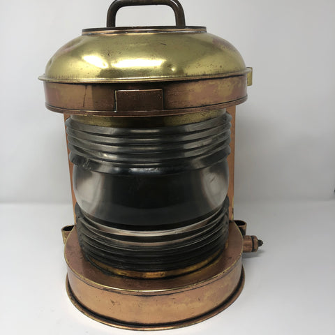 Navigation Light, Perko, Commercial, 180 Degree White Light circa 1930's - Annapolis Maritime Antiques