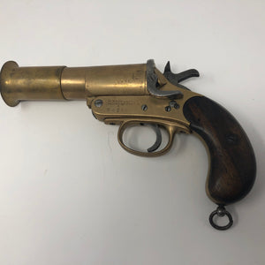 Flare Gun, Webley and Scott Ltd., WW I, circa 1918