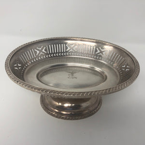 Candy Dish, USN, Reed and Barton Co., Silver Solder circa WWII