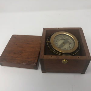 Compass, Gimballed, Boxed, circa 1930's