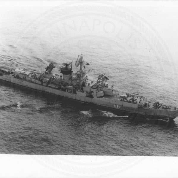 Official U.S. Navy photo the Soviet missile cruiser Kresta class - Annapolis Maritime Antiques