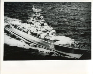 Official U.S. Navy photo of Soviet Krivak I class frigate Rositelnyy - Annapolis Maritime Antiques