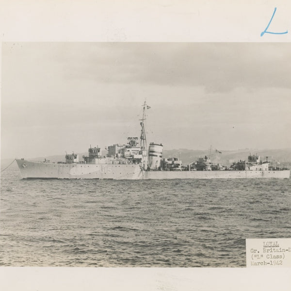 "British and Canadian ""L"" Class Destroyers"