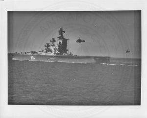 Official U.S. Navy photo the Soviet missile cruiser Moskva class - Annapolis Maritime Antiques