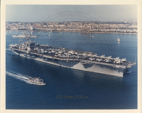 USS Nimitz (CV-68) Aircraft Carrier