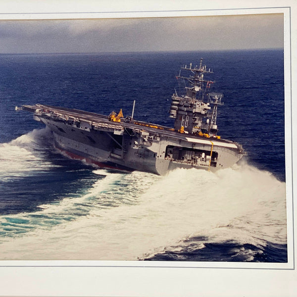 USS Nimitz (CVN-68) Aircraft Carrier Presentation Photograph