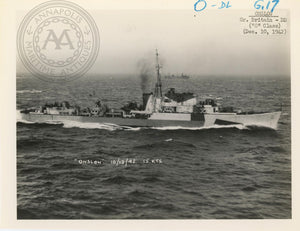 "British and Canadian ""O"" Class Destroyers"