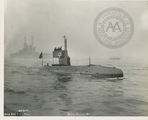 USS Octopus (0-1) Submarine