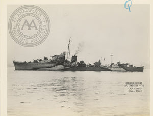 "British and Canadian ""Q"" Class Destroyers"