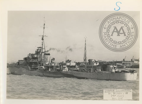 "British and Canadian ""S"" Class Destroyers"