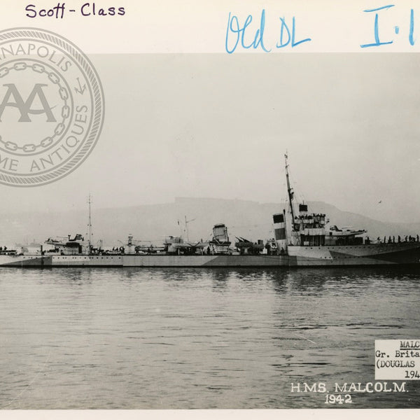 "British and Canadian ""Scott"" Class Destroyers"