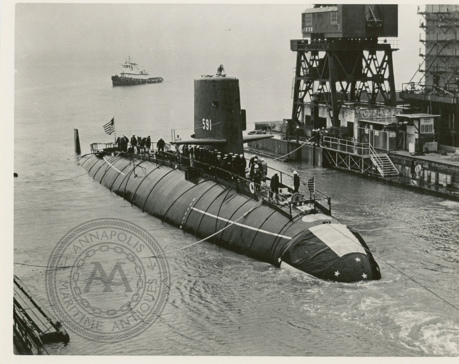USS Shark (SSN-591) Submarine